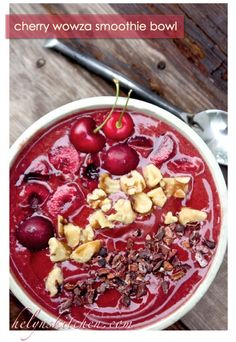 smoothie bowl top