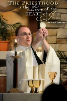 Give thanks for our Priests and pray for them constantly