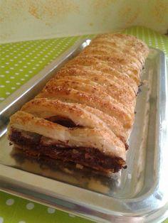 Treccia di sfoglia al cioccolato fondente e cocco - Blog GZ In cucina con Aurora dolci