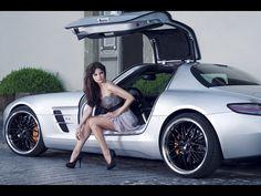 Girl and Mercedes-Benz SLS AMG Car HD desktop wallpaper, Mercedes-Benz wallpaper, Mercedes-Benz SLS AMG wallpaper, Woman wallpaper - Cars no. Audi, Porsche, Auto Girls, Car Girls, Girl Car, Cars 1, Hot Cars, Hd Desktop, Car And Girl Wallpaper