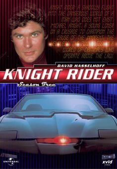 Knight Rider.... I LOVED Knight Rider...I wanted a car JUST like Kit!