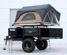 Off Road Camper Trailer, Trailer Build, Camper Trailers, Expedition Trailer, Overland Trailer, Off Road Camping, Jeep Camping, Jeep Tent, Trailer Manufacturers