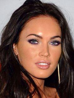 Megan Fox pretty make-up