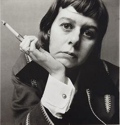 Carson McCullers, New York, 10 May 1950. Irving Penn. Platinum palladium print.