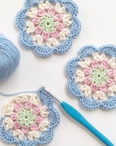 Crochet Diagonal Granny Square by Divonsir Borges WIP Sunday - What's on Your Hook? Week 2 Entry African Flower with 8 Petals (Square) by Nicole Hancock Free Pattern - Salvabrani Just Be Crafts: Learn To Crochet Square African Flower Work in progress, Ana Crochet Blocks, Granny Square Crochet Pattern, Crochet Flower Patterns, Crochet Squares, Crochet Designs, Crochet Flowers, Knitting Patterns, Blanket Crochet, Crochet Afghans
