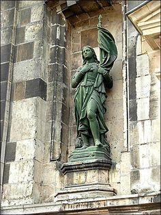 Arras -Joan of Arc statue