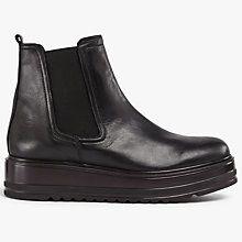 Buy Kin by John Lewis Priscila Flatform Chelsea Boots, Black Online at johnlewis.com