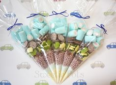 Boys Candy/Sweet Cones by Sweetie Pots