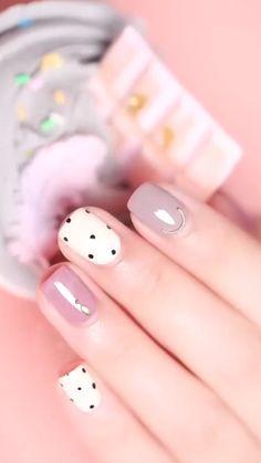 Beauty Hacks Nails, Nail Art Hacks, Nail Art Diy, Easy Nail Art, Diy Nails, Shellac Nails, Elegant Nails, Classy Nails, Stylish Nails
