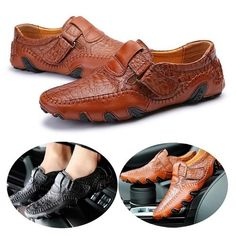 c57d5d929a3b87 Latest Fashion Genuine Leather Driving Loafer Shoes Men s Business Oxford Shoes  Loafer Shoes