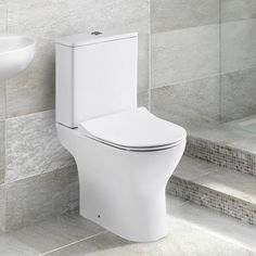 Harbour Acclaim Close Coupled Toilet with Soft Close Wafer Seat - 600mm Projection. Proudly Brought to you by Drench. Free Delivery Over £500* 0% Finance Available* Free 3D Design