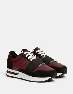 Puma Basket Heart Corduroy W shoes maroon