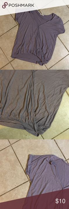 Maurices dress shirt Very pretty purple shirt. Worn once. Maurices Tops Tees - Short Sleeve