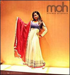 Spring - Summer's Special, Simply Stunning #Anarkali Suits @ Moh | #Ahmedabad — with Kasish Khan.