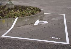 ::: I believe in advertising ::: » Jeep: Parking Space