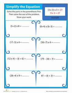 17 Best ideas about Order Of Operations on Pinterest | Math ...