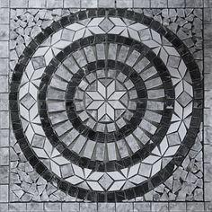 Stone Center Online Nero Marquina Black Marble Basketweave Mosaic Tile Carrara White Dots x Honed Kitchen Backsplash Bathroom Floor Tile – High Quality Marble Kitchens Marble Tile Backsplash, Marble Wall, Marble Floor, Kitchen Backsplash, Mosaic Tiles, Mosaic Floors, Mosaic Art, Grey Bathroom Tiles, Bathroom Wall
