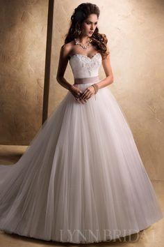 Sweetheart Chapel Train Tulle Princess Wedding Dress $407.99 Vintage Wedding Dresses
