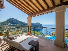 Sea view from this spot on Mallorca: Wonderful!