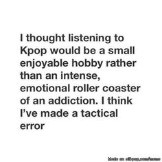 Classical Mistake of Every Kpopper..
