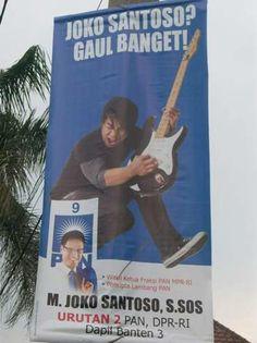Caleg Gaul Banget