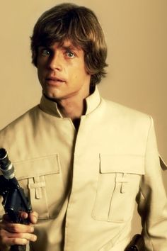 Luke Skywalker - iPhone wallpaper! So cute!!