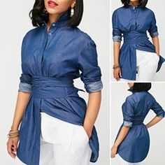 Shop Womens Fashion Tops, Blouses, T Shirts, Knitwear Online Classy Outfits, Casual Outfits, Cute Outfits, Fashion Outfits, Womens Fashion, Traje Casual, African Fashion, Blouse Designs, Dress To Impress