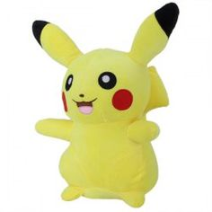 SHARE & Get it FREE | 28cm Height Anime Opening Mouth Smiling Pokemon Pikachu Plush Doll Plush ToysFor Fashion Lovers only:80,000+ Items • New Arrivals Daily • Affordable Casual to Chic for Every Occasion Join Sammydress: Get YOUR $50 NOW!