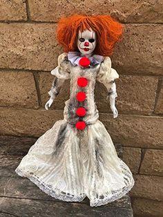 unusual dolls - Google Search Creepy Carnival, Ronald Mcdonald, Dolls, Clowns, Fictional Characters, Google Search, Art, Baby Dolls, Art Background