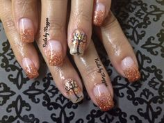Love the accent nail.  May try it out in the fall.  The other nails?  No.