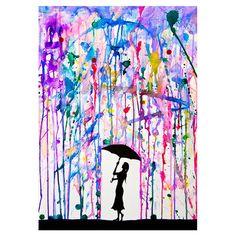 Wandkunst 'Deluge'