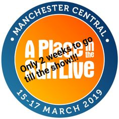 Just 2 weeks to go till the show opens its doors at Manchester Central Convention Centre! Drop by and come and talk to our friendly and experienced staff on Stand - March 10 am till 5 pm. We look forward to meeting you! Manchester Central, Convention Centre, To Go, March, Drop, Posts, Sun, Live, Spring