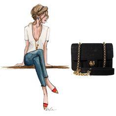 Simple and chic with Chloe  http://bobags.com.br/compra-de-bolsas/chloe-vintage-bag.html #chloe #brechodebolsas #adorobobags
