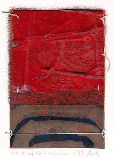 Takahiko Hayashi ~ D-17, What a wonderful world, 2010 (mixed media, collage on original print)