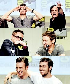 The Avengers: Age of Ultron cast at San Diego Comic Con 2014
