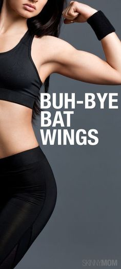Buh-Bye Bat Wings: Exercises to Cut the Upper Arm Fat- Best .- Buh-Bye Bat Wings: Exercises to Cut the Upper Arm Fat- Best 5 Triceps Exercises to Blast Arm Jiggle - - Fitness Workouts, Lower Ab Workouts, Sport Fitness, Fitness Diet, Health Fitness, Shape Fitness, Fitness Plan, Workout Routines, Workout Plans