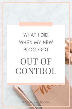 I was frustrated. I was exhausted. I was completely overwhelmed by my blog. Then I figured out a solution. Read more about what I did differently!