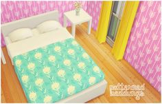 The Sims 4 | lina-cherie patterned beddings OM mattress for bed frames | buy mode new objects bed room