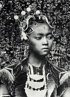 Serimpi Dancer from Yogyakarta