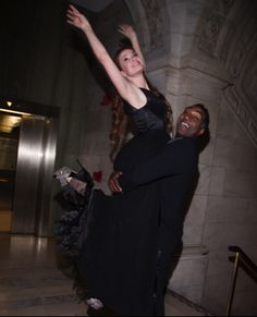 Sierra Boggess and Norm Lewis