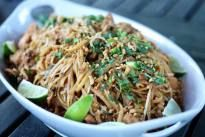 Get this quick & easy recipe for Pad Thai from JenniferCooks.com Pad Thai is a classic stir-fry of rice noodles and usually comes together in less than 30 minutes.