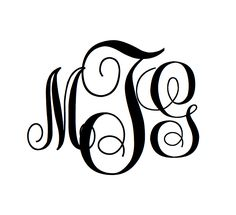 Freebie!   Create your own swirly monogram online! Download this font and create!   http://www.dafont.com/monogram-kk.font    This is instru...