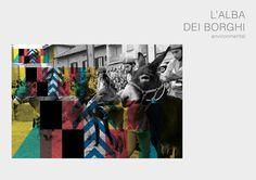 LALBA DEI BORGHI by Andrea Viberti, via Behance