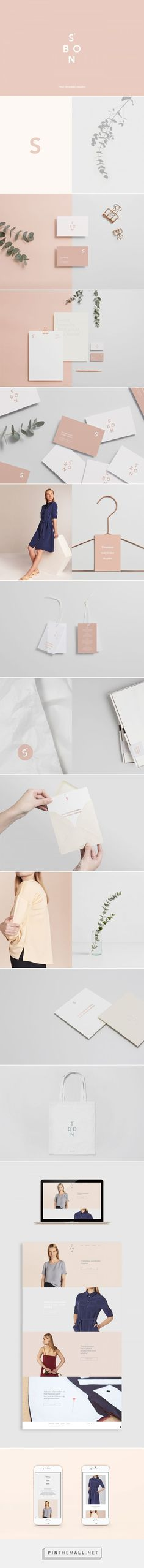 S.Bon Clothing Brand by Lidia Mínguez | Fivestar Branding Agency – Design and Branding Agency & Curated Inspiration Gallery #fashionbrand #branding #brand #brandidentity #design #designinspiration