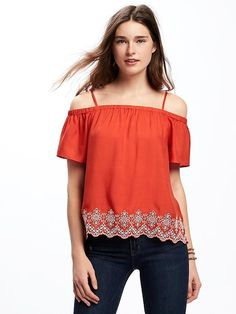 Off-the-Shoulder Swing Blouse for Women