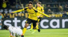 Dortmund: Pierre-Emerick Aubameyang scored a hat-trick and Christian Pulisic claimed his first Champions League goal as Borussia Dortmund overcame Benfica 4-0 to reach the quarterfinals on Wednesday. Aubameyang had missed a penalty when Dortmund lost 1-0 in the first leg of the Round of 16...