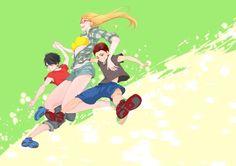Kagami x Himuro x Alex Kuroko No Basket, Girls, Anime, Fictional Characters, Art, Toddler Girls, Daughters, Maids, Anime Shows