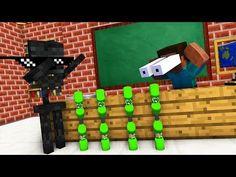 Monster School : BOTTLE FLIP Challenge - Minecraft Animation - YouTube Minecraft Mobile, Minecraft Stuff, Funny Minecraft Animations, Ninja Star Origami, Bottle Flip Challenge, Dumb Ways, Minecraft House Tutorials, Monster School, Minecraft Characters