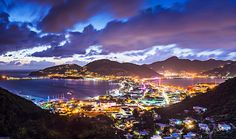 Philipsburg, St. Maarten. One island, two cultures: Experience Dutch and French culture and enjoy gorgeous coastline, vibrant nightlife, and a great selection of restaurants.