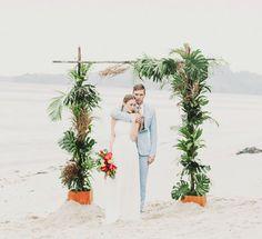 Tropical Pop-Art Wedding Inspiration